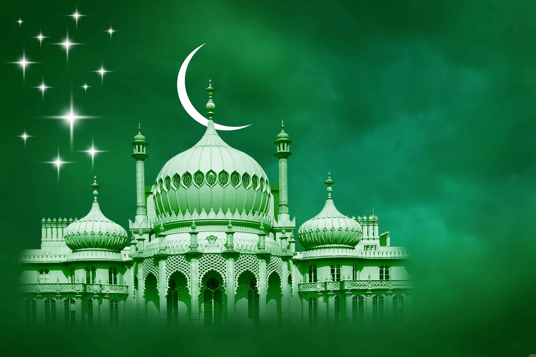 digital islamic background hd