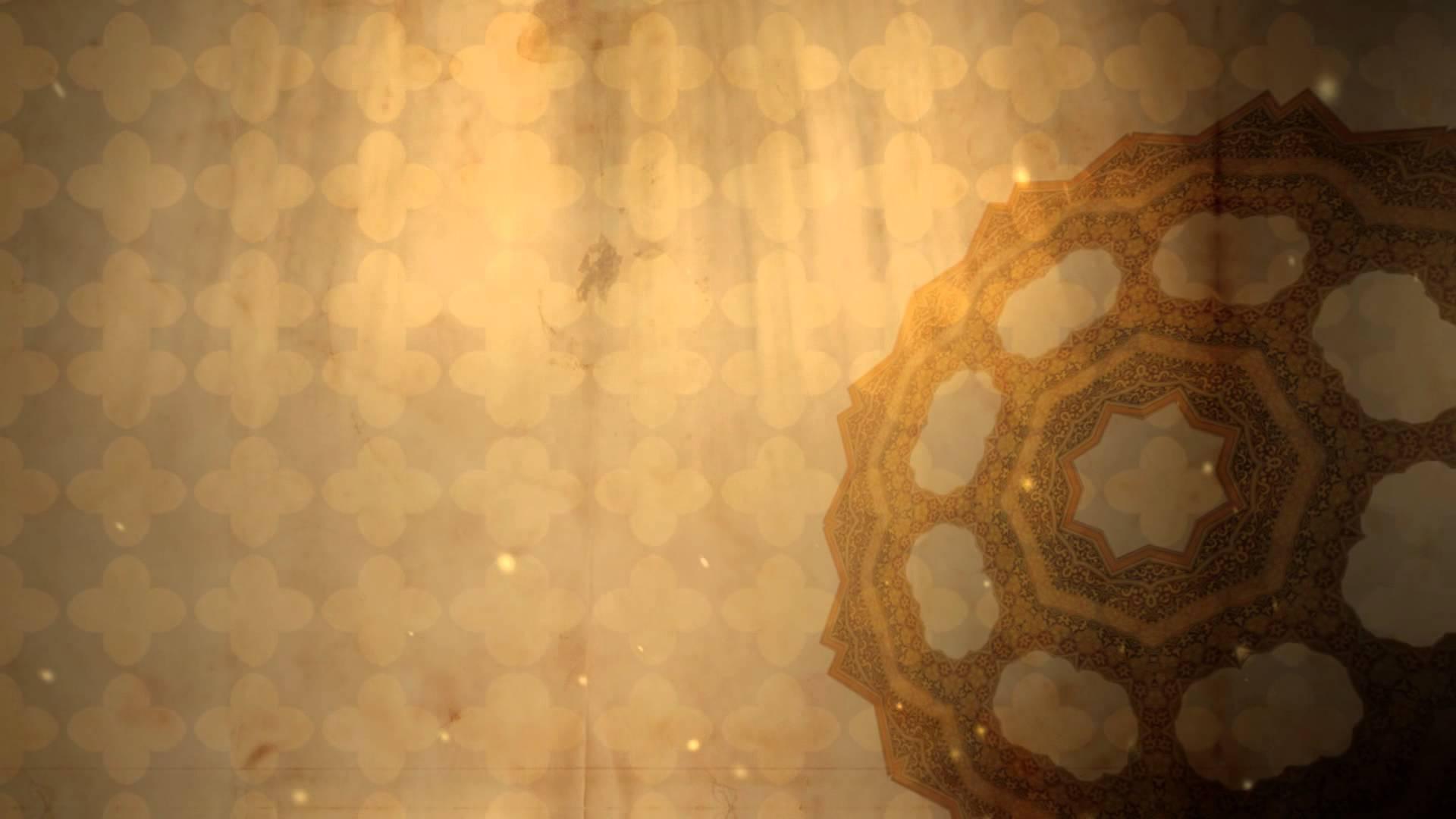 fractal 3d islamic background