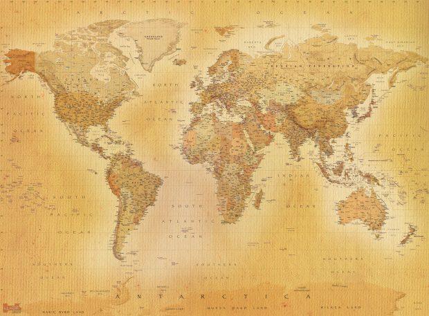 best download world map image