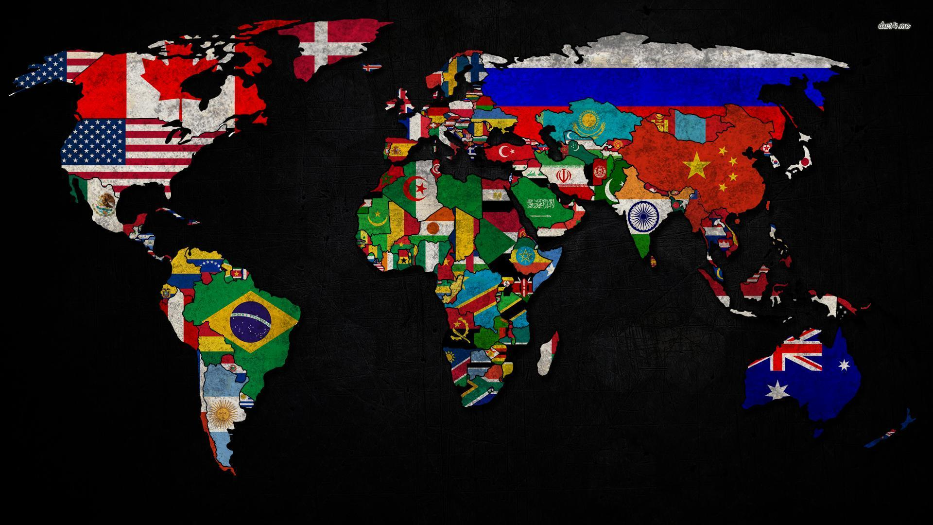 map of world image
