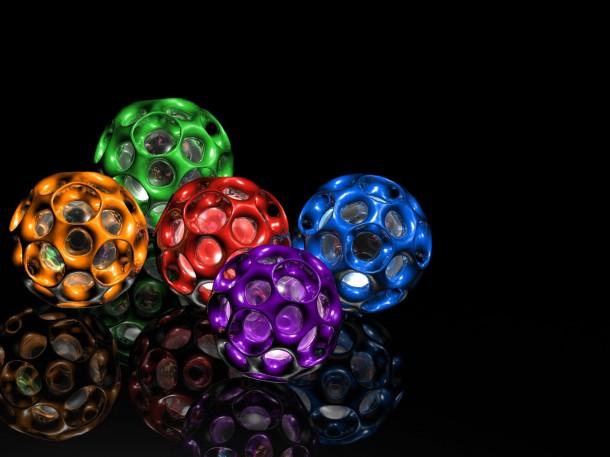 colorful balls latest 3d