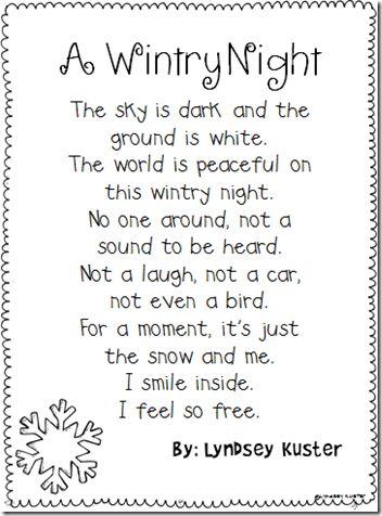 best hd winter poem photos