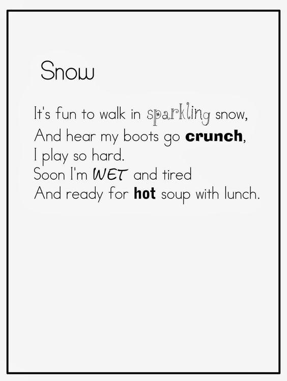 amazing winter poem photos
