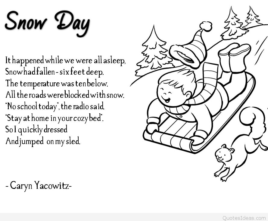 beautiful winter poem photos