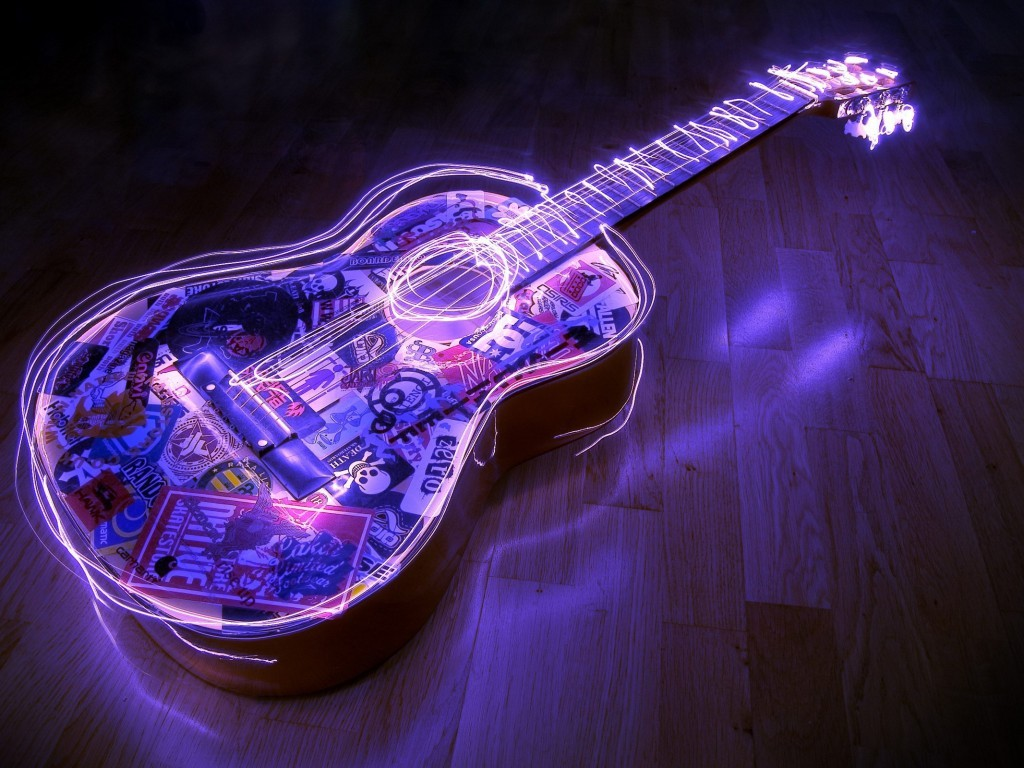 guitar hd wallpaper