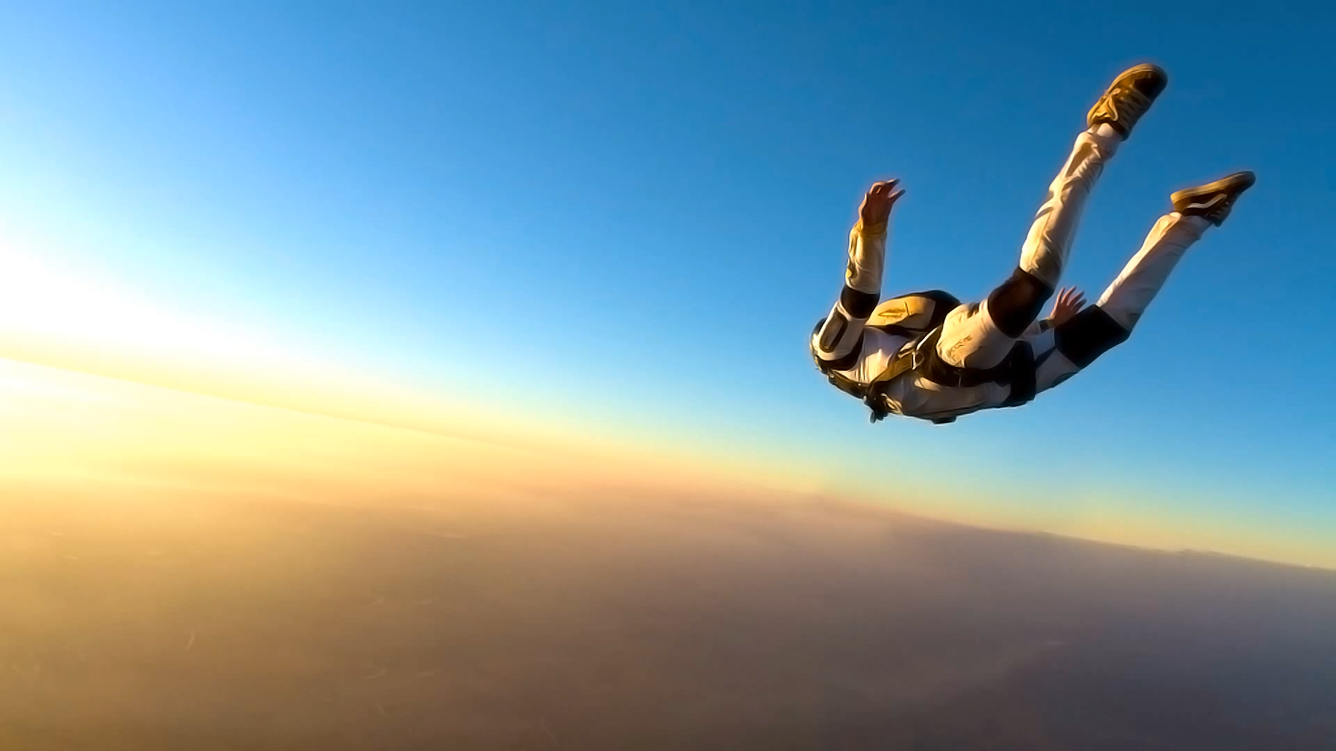 wallpaper of skydiving