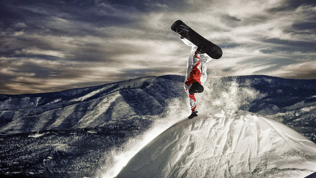 best snowboarding image