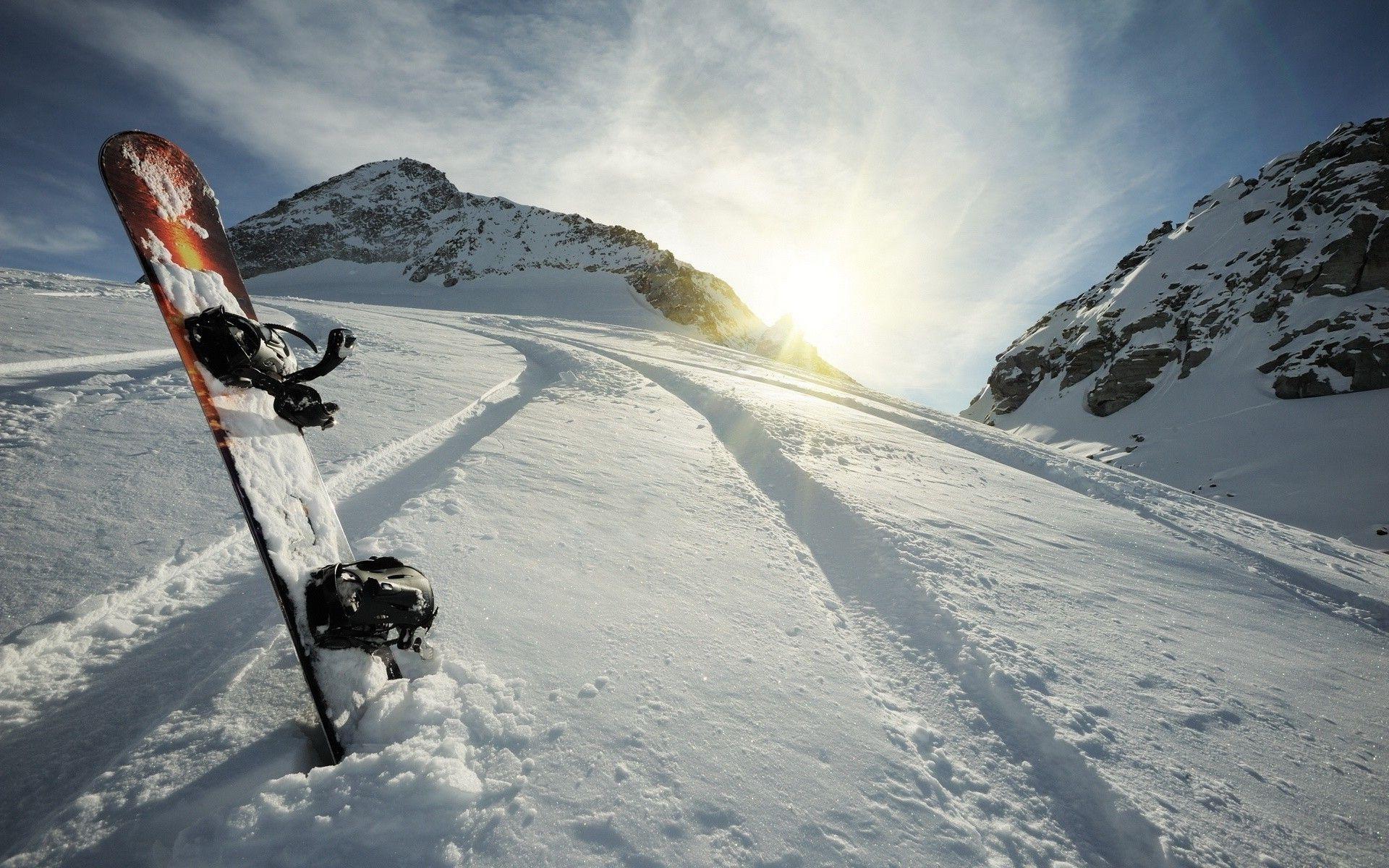 natural snowboarding wallpapers