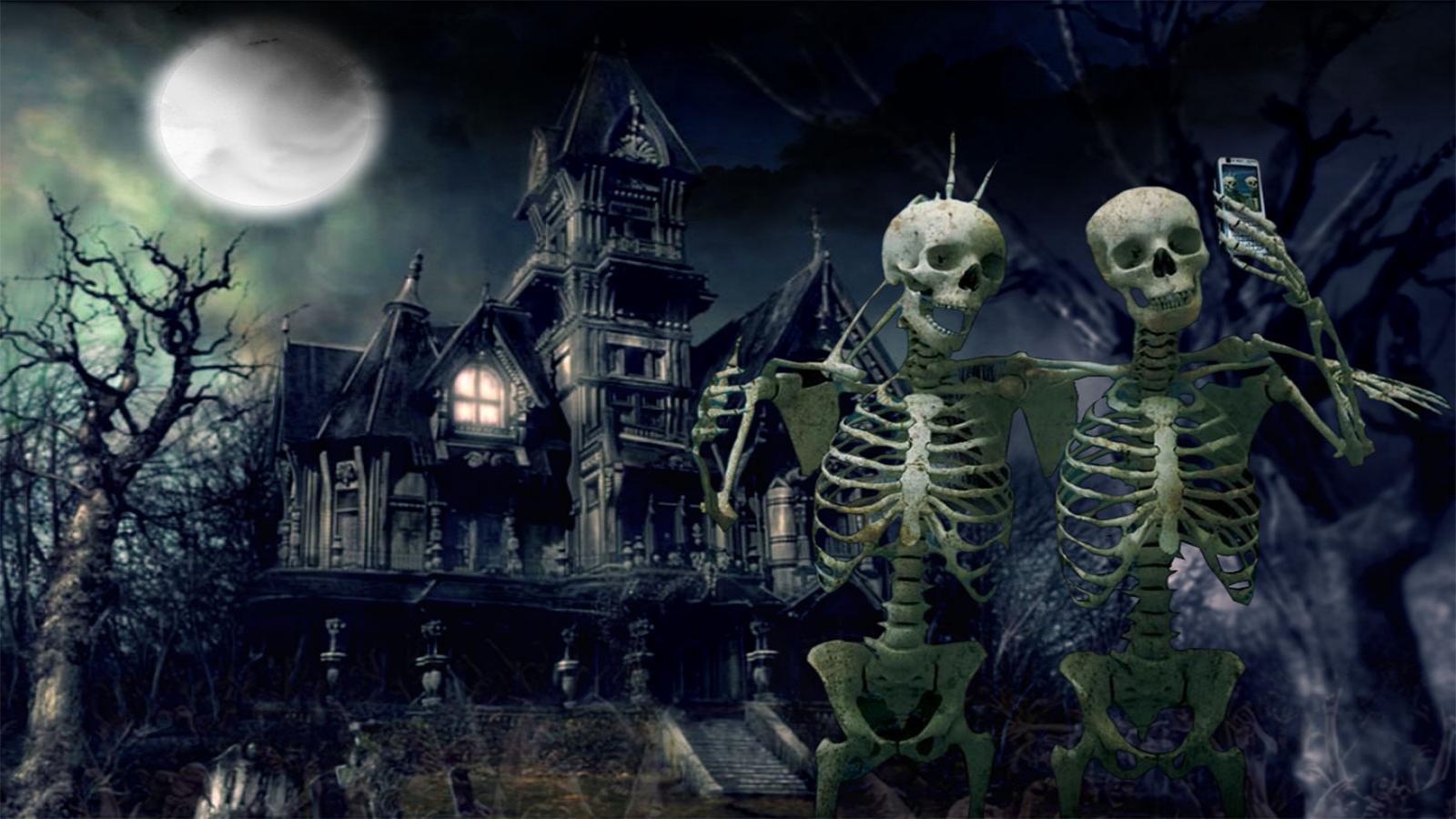 danger halloween image