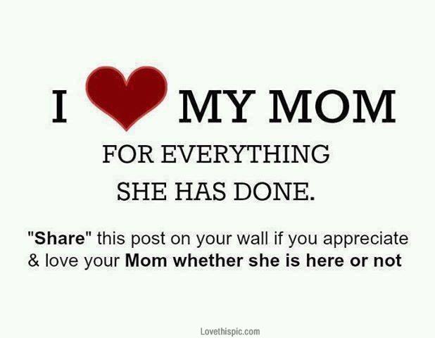 stunning hd i love my mom photo