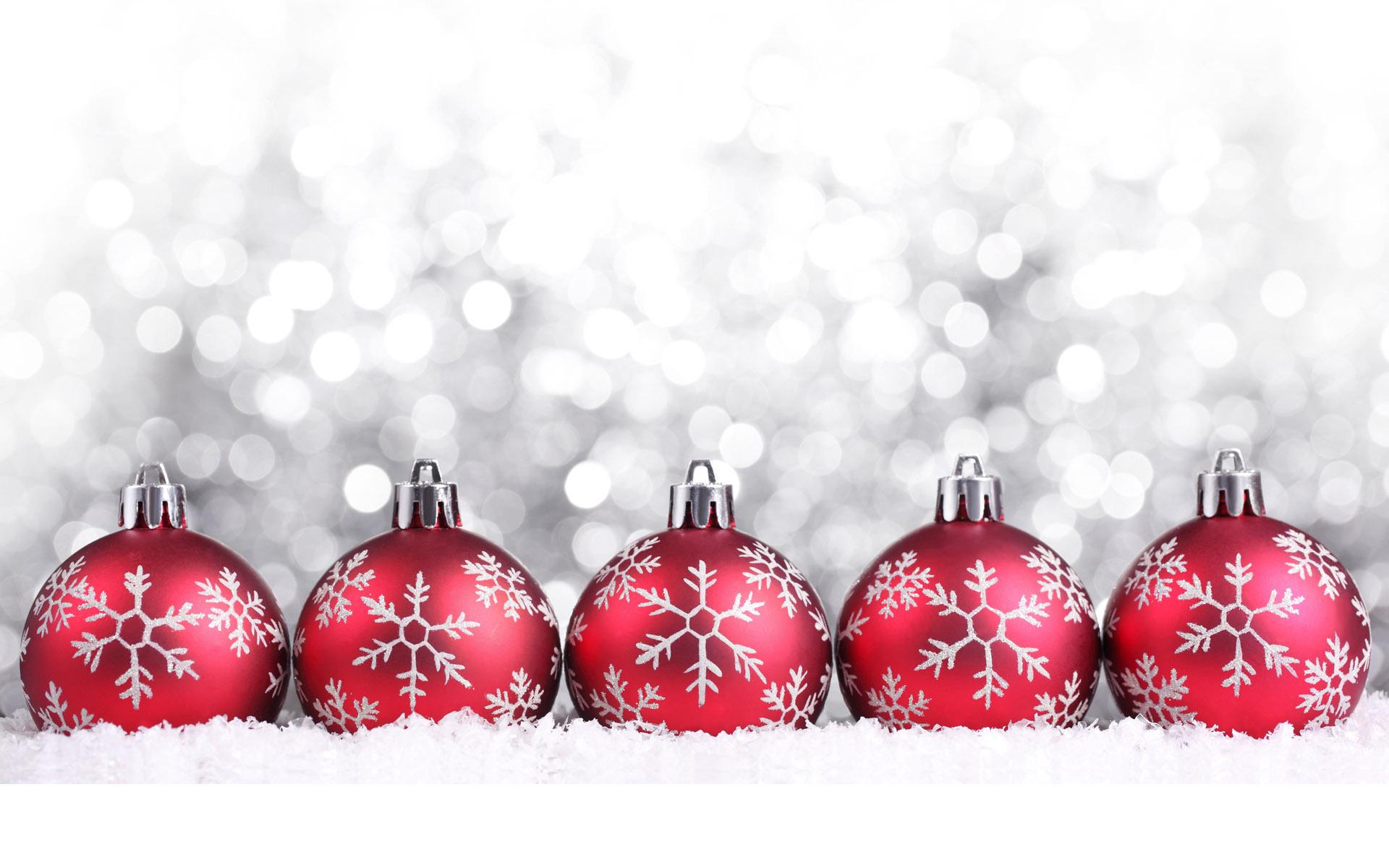 red balls christmas image