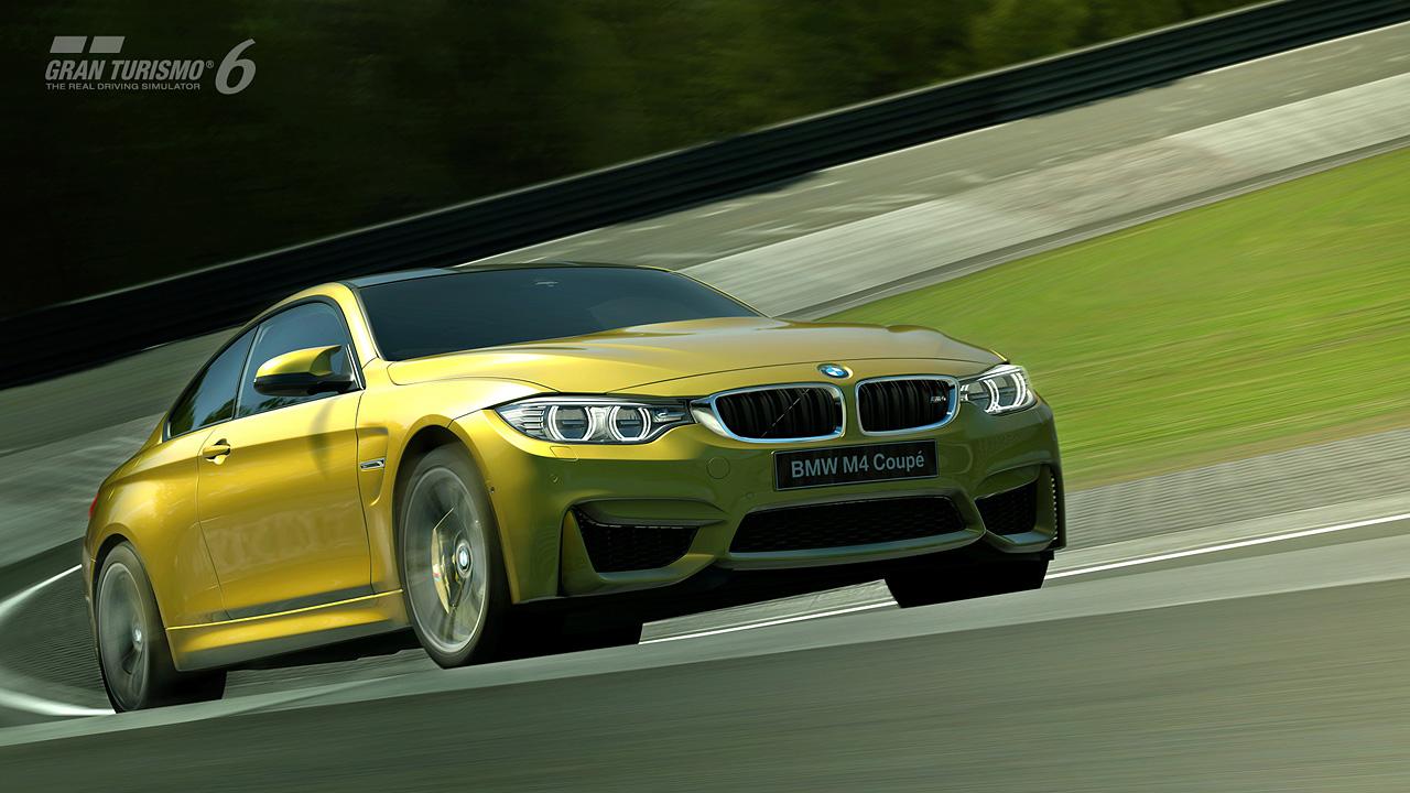 yellow car bmw image