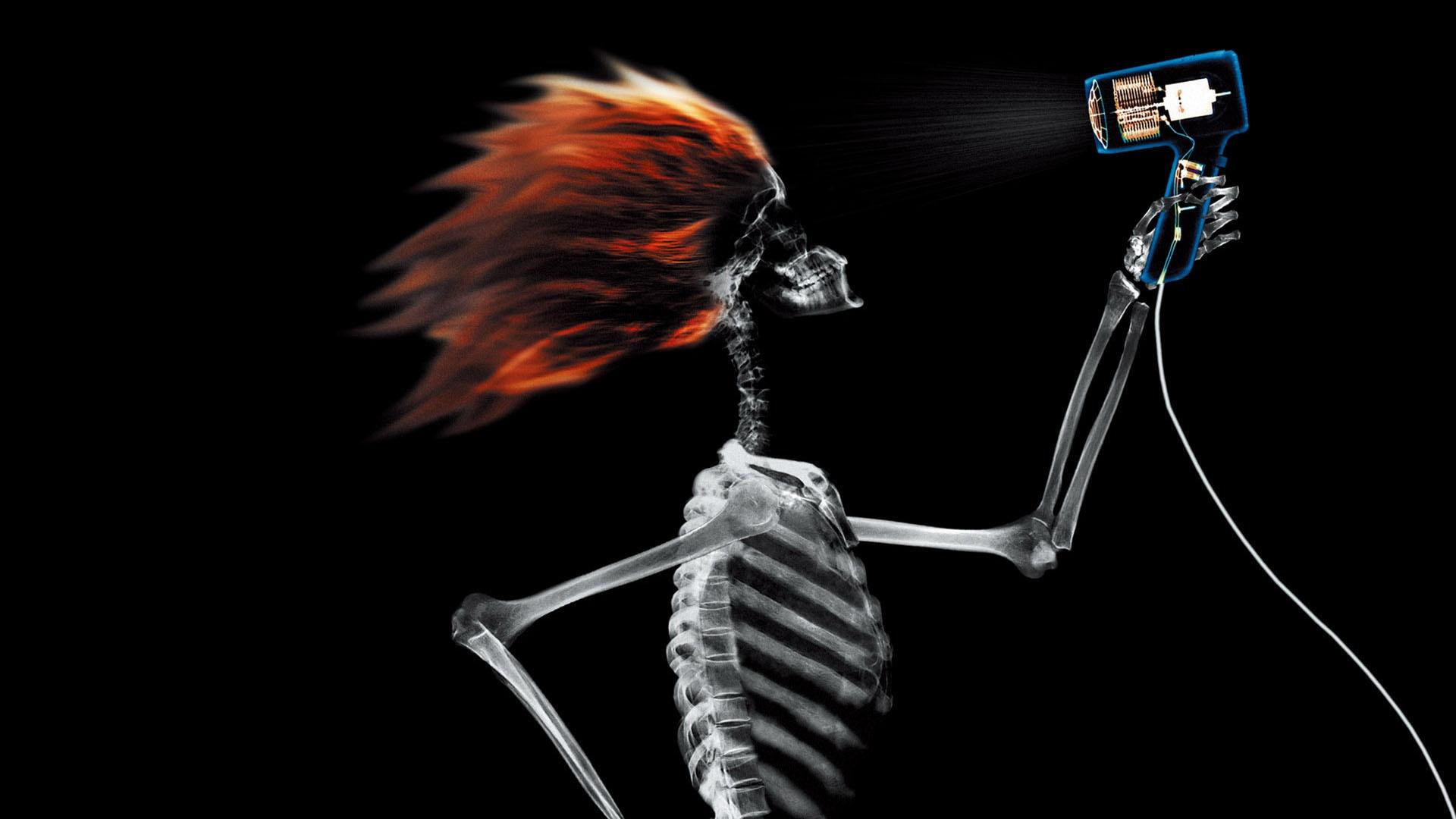 skeleton strange image