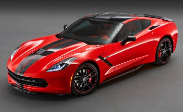 full red 2015 corvette image