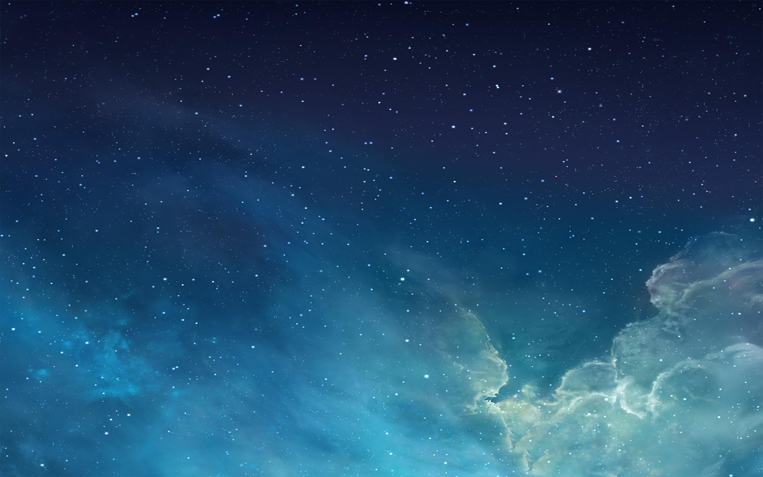 ios 7 galaxy image
