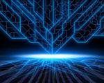 hd blue digital image
