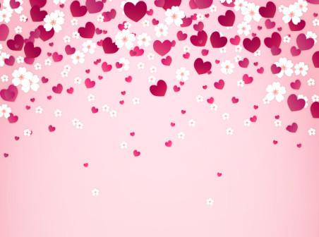full hd pink heart image