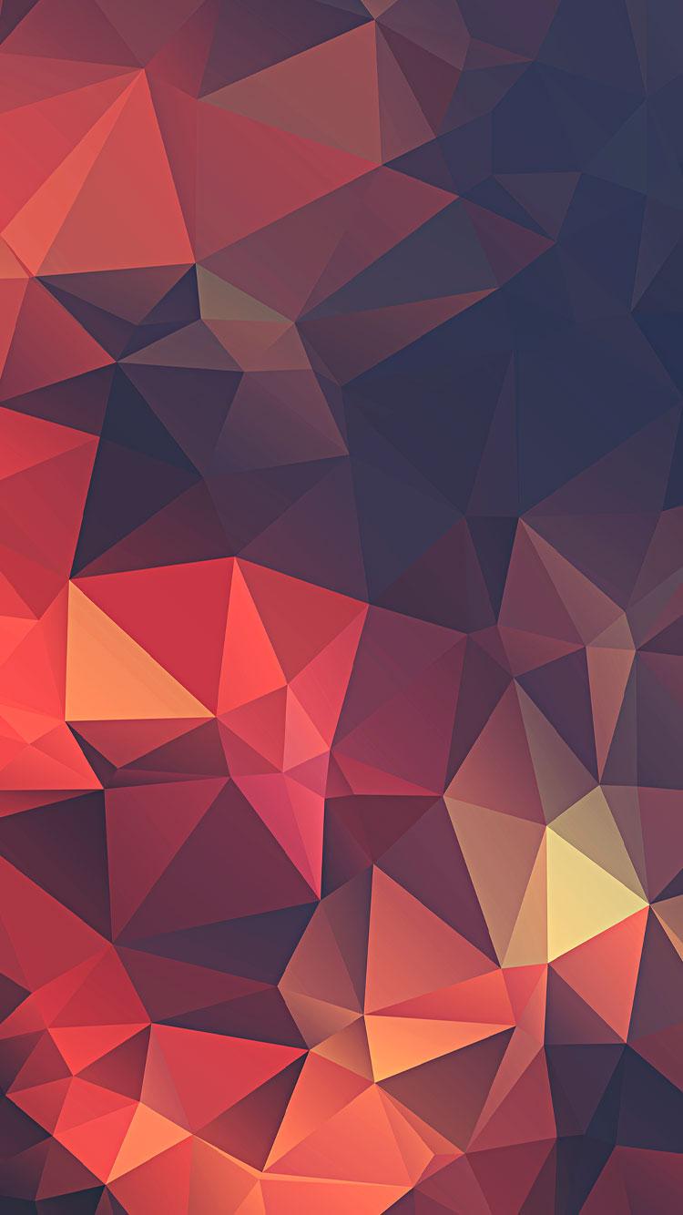 dark polygon hd image