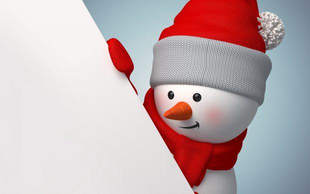 hd snowman image