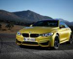 yellow hd BMW M4 image