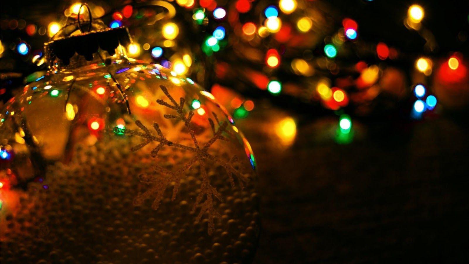 wallpaper of christmas lights