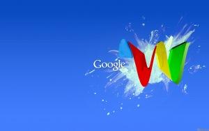 google blue hd image