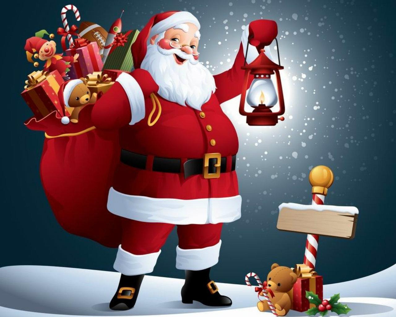free santa claus image