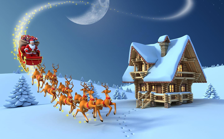 cute horse christmas