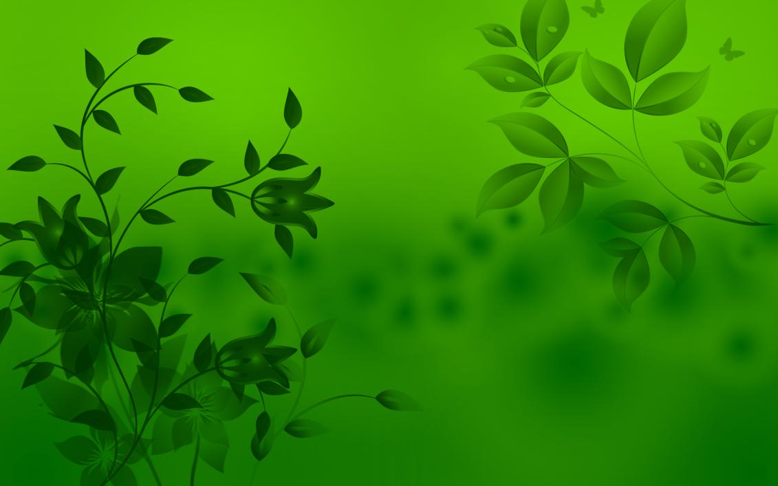 green flower hd image