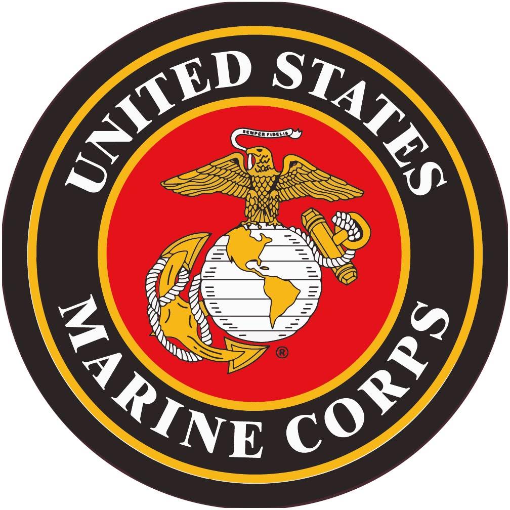 colorful marine corps logo image