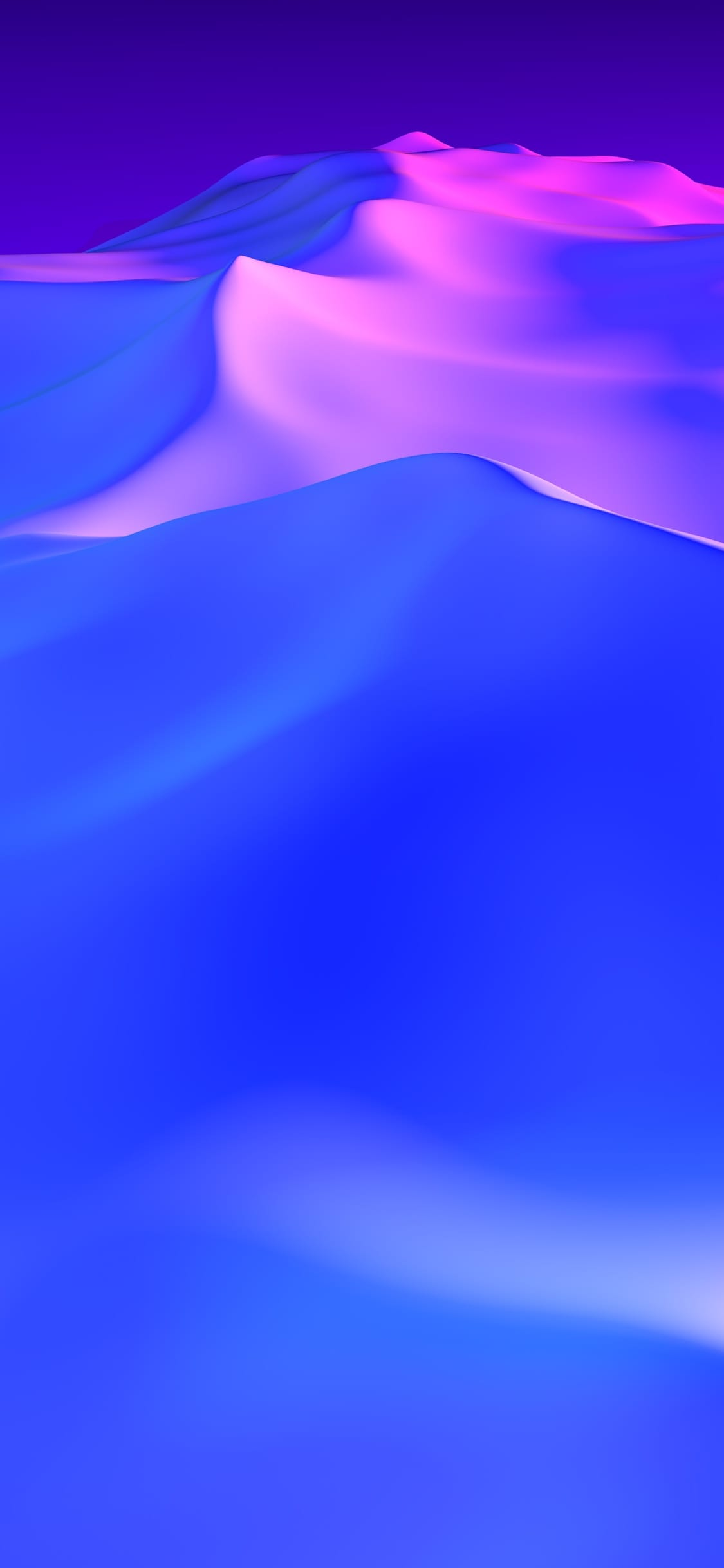 dark blue iPhone X image