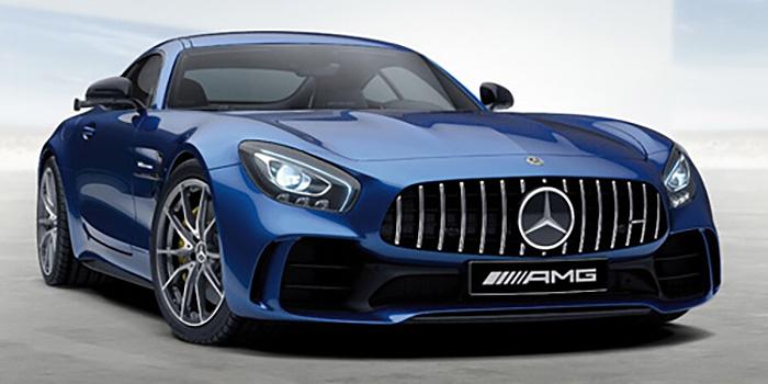 blue hd Mercedes AMG GTR