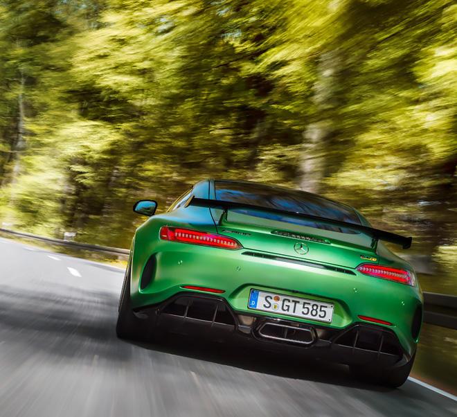 green hd car image