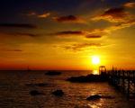 sea horizon hd image