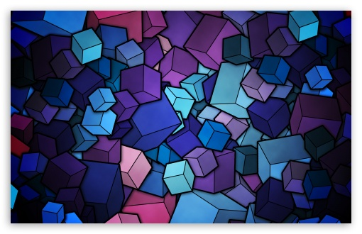 fantastic hd cubes image