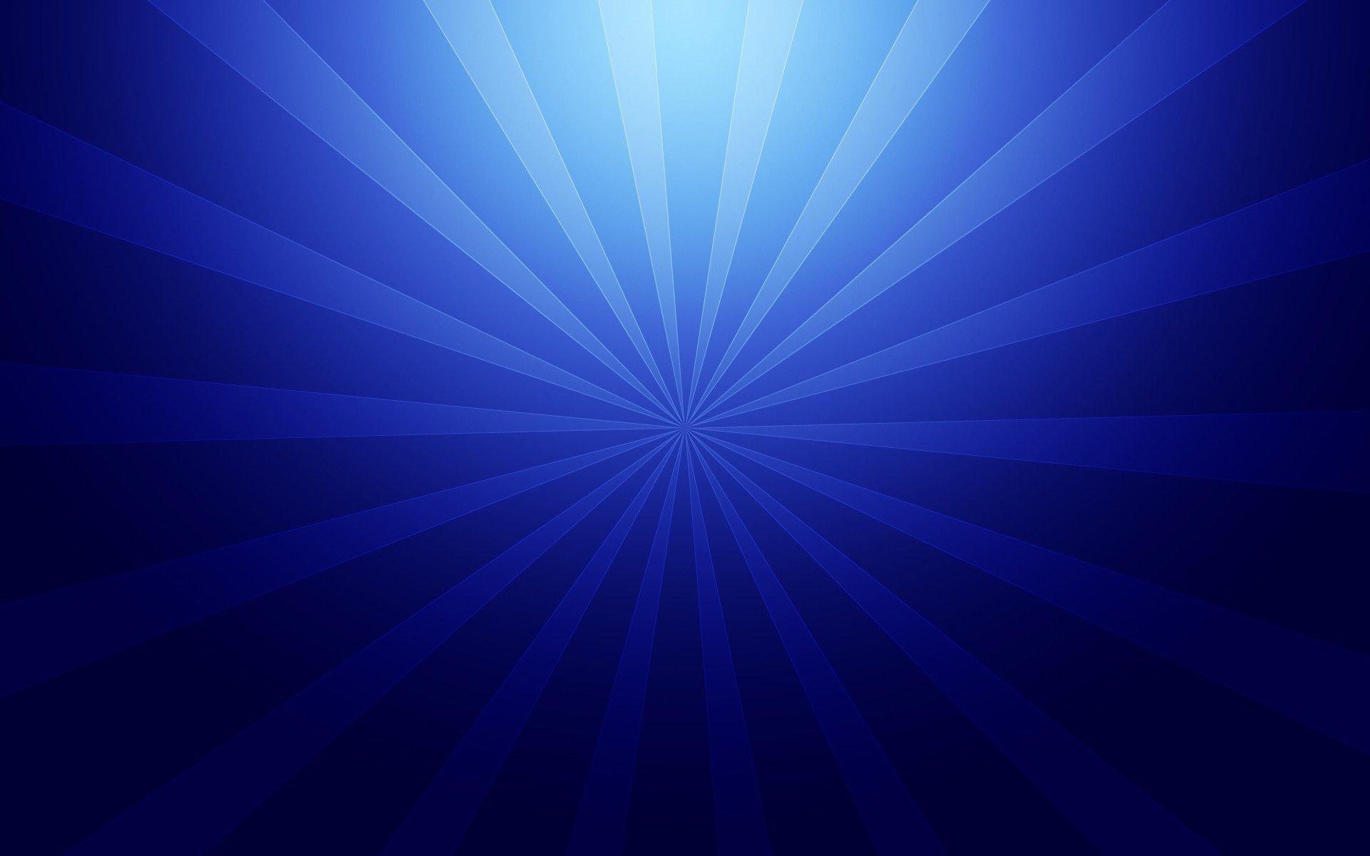 blue radial image