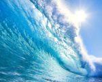blue sea natural image