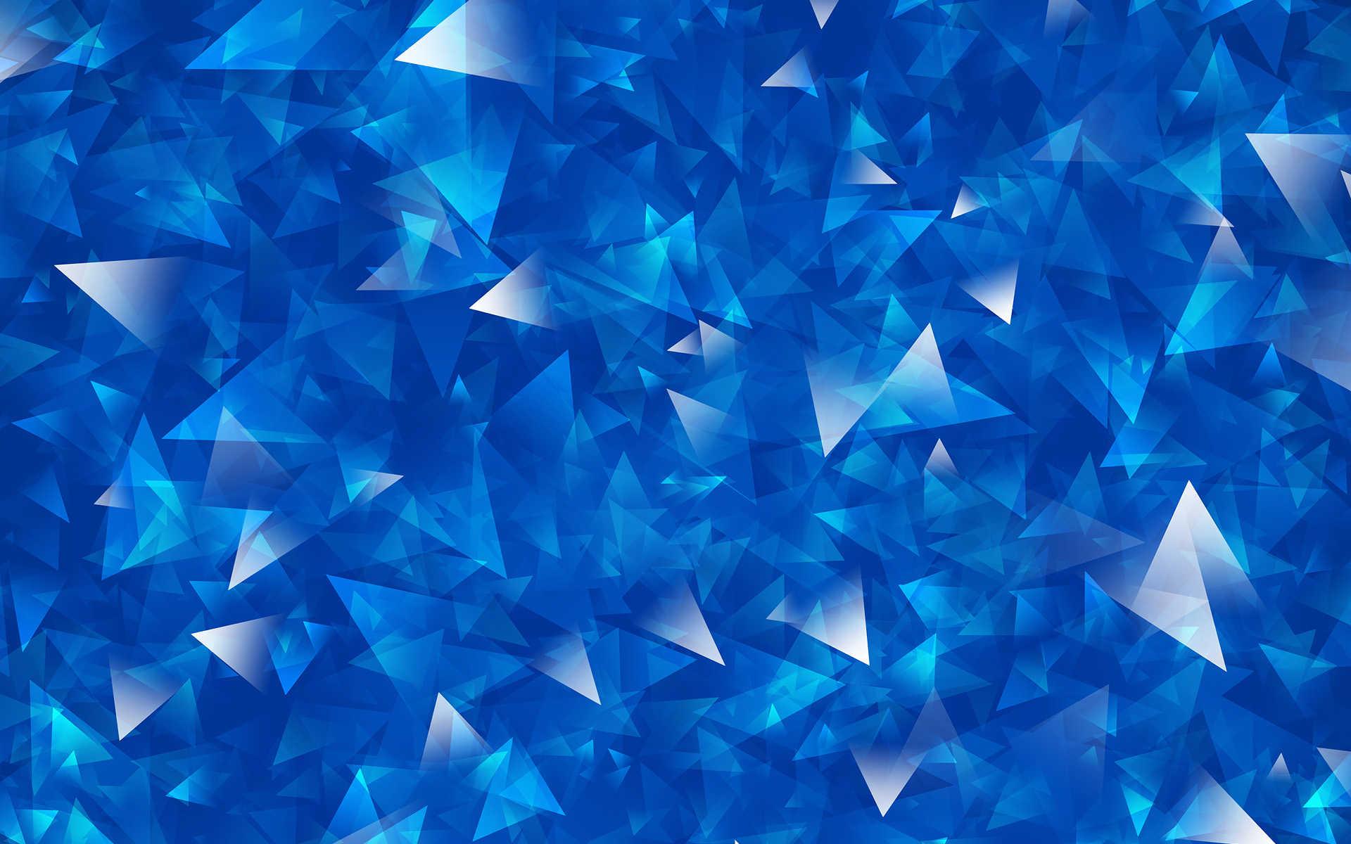 blue hd crystal image