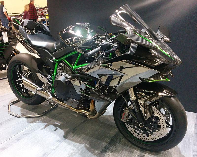 motorcycle Kawasaki Ninja H2 image