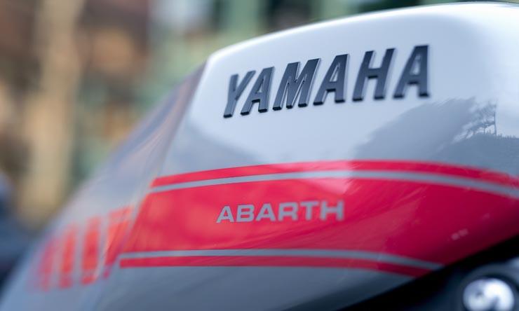 3d Yamaha XSR900 Abarth