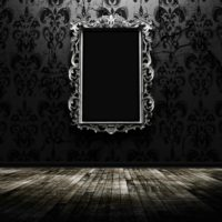 black hd mirror image