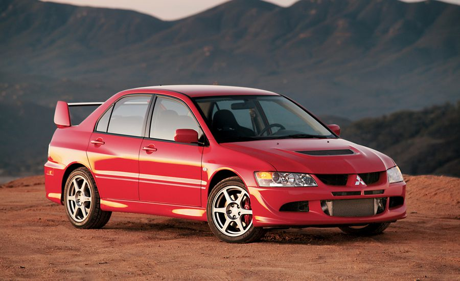 best Mitsubishi Evolution