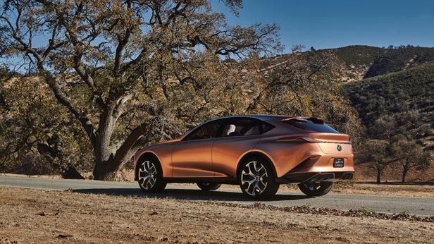 brown Lexus LF-1 Limitless