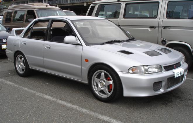 grey hd Mitsubishi Evolution