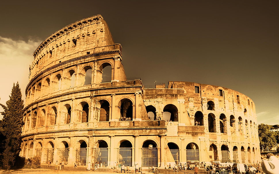 wonderful colosseum amphitheatre image