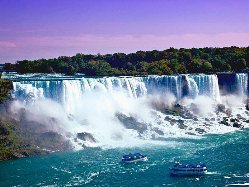 natural american falls image