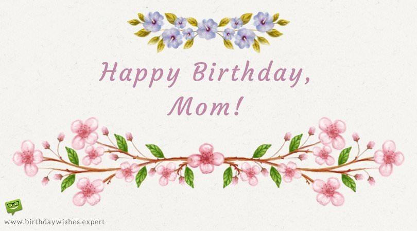 3d Happy Birthday Mother