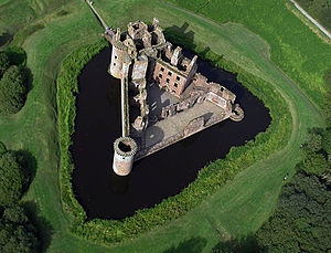Landscape Caerlaverock Castle Images