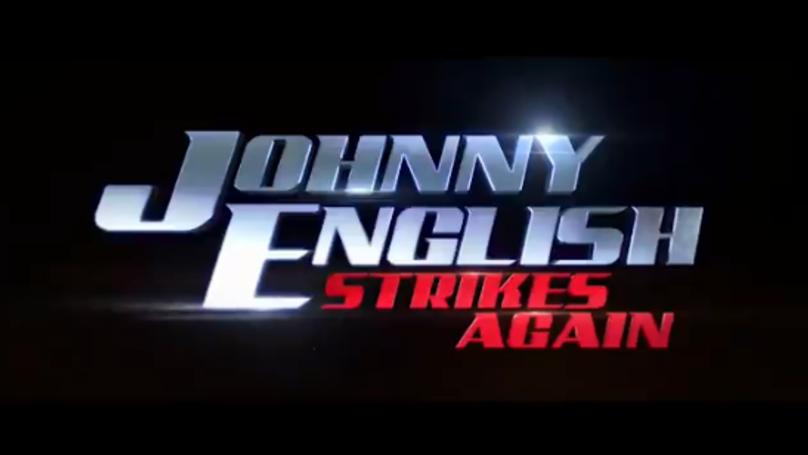 nice logo Johnny English Strikes Again
