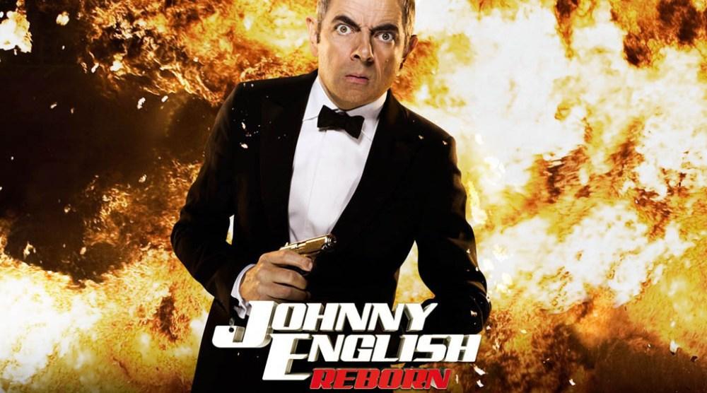 Flying man Johnny English Strikes Again